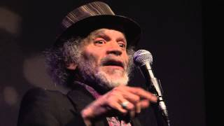 John Agard at London Liming Feb 2013
