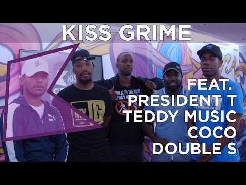 Prez T, Coco, Teddy Music & Double S Freestyle + Chat | KISS Grime with Rude Kid