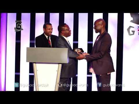 Henry Bonsu at the GUBA Awards.